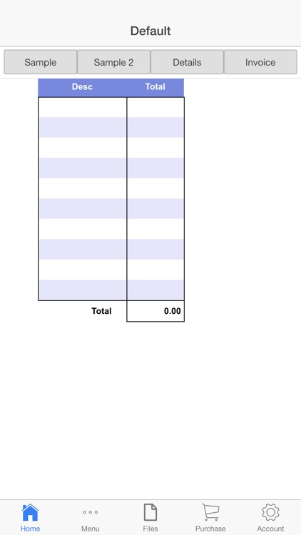 Billing Invoice screenshot-2