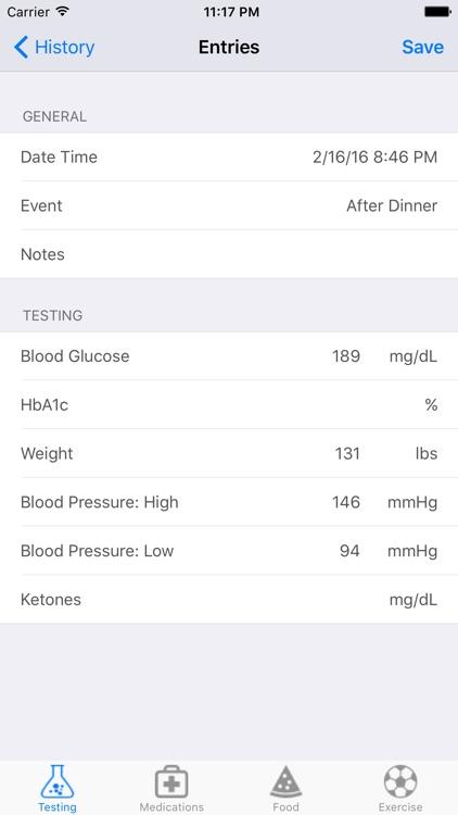 Diabetes Metrics