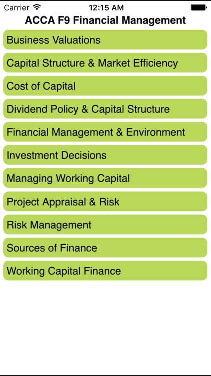 ACCA F9 Financial Management by Know Your Subject Limited