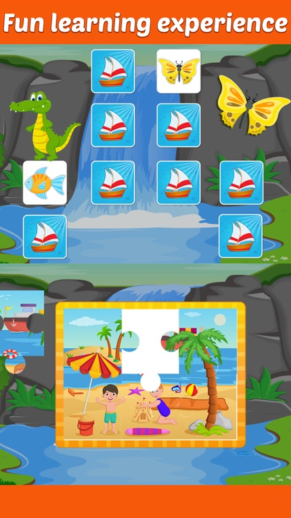 Row Your Boat- Sing along Nursery Rhyme Activity for Little Kids screenshot-3