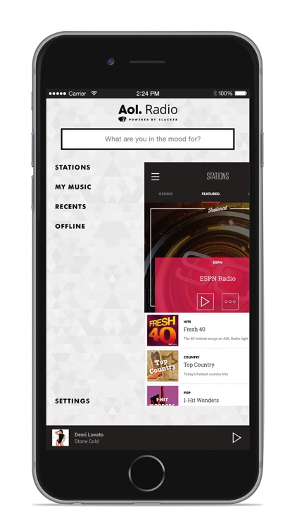 AOL Radio app image