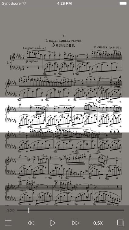 Chopin Nocturnes - SyncScore screenshot-0