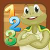 Tartaruga matemática para crianças - crianças aprendem números, adição e subtração