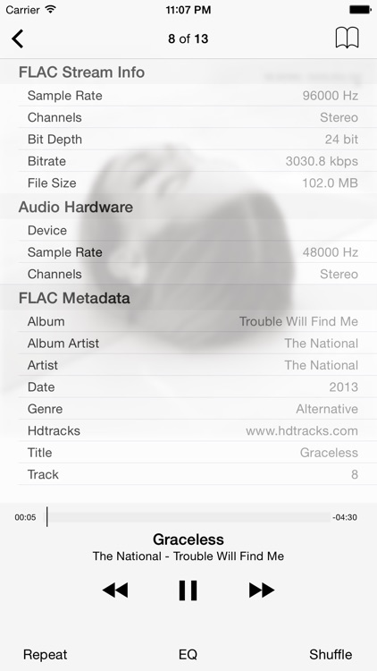 FLAC Player