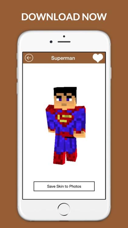 Best Skins PE - Girl, Boy and Animal skin for Minecraft screenshot-4