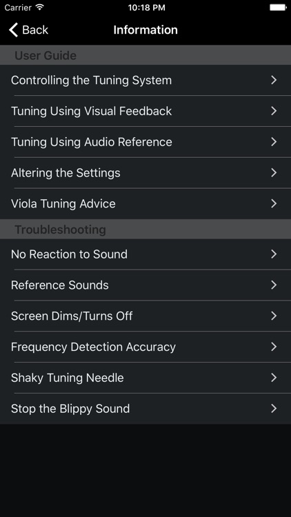Precision Viola Tuner screenshot-3