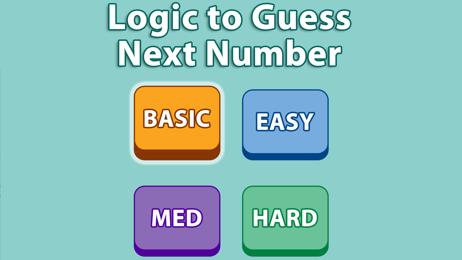Add Next Number Sequence Puzzle screenshot 1