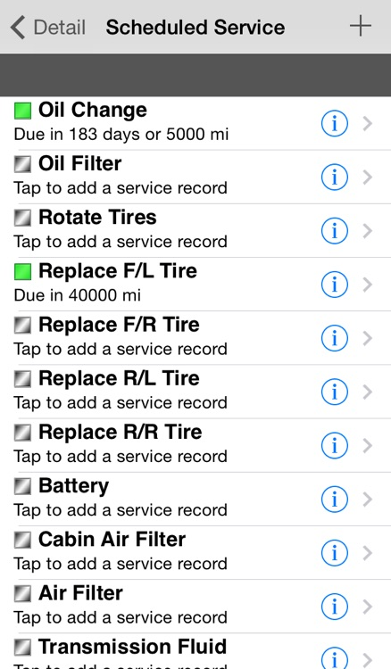 CarTune - Vehicle Maintenance and Gas Mileage Tracker screenshot-4