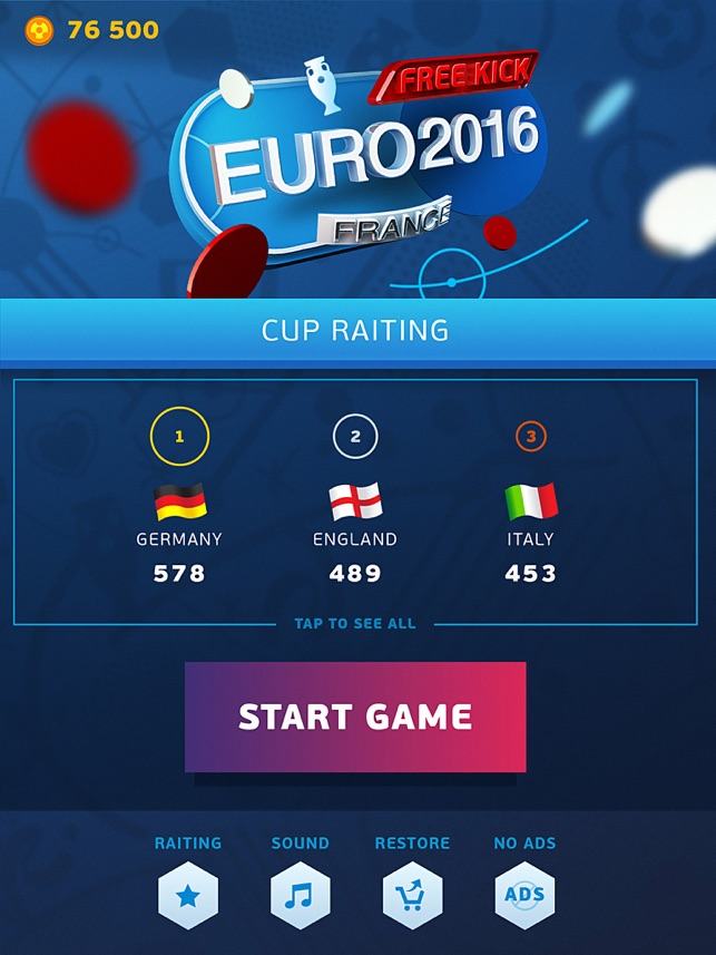 Free Kick - Euro 2016 France Screenshot