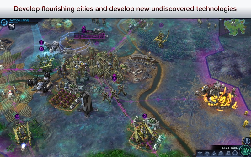 Screenshot #3 for Civilization: Beyond Earth