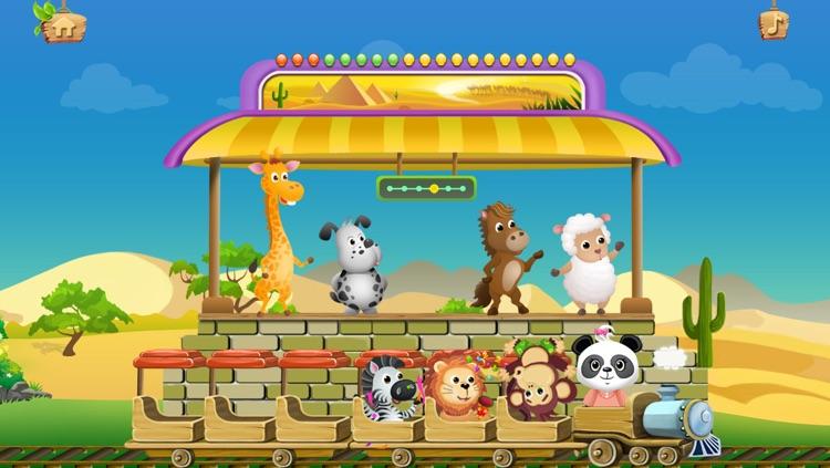 乐乐的数学小火车免费版-妙趣儿童数学,数数及各种小游戏 - Lola's Math Train screenshot-4