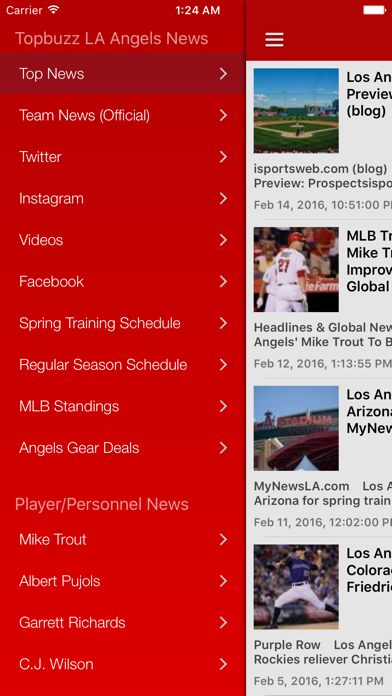 News Surge for LA Angels Baseball News Free