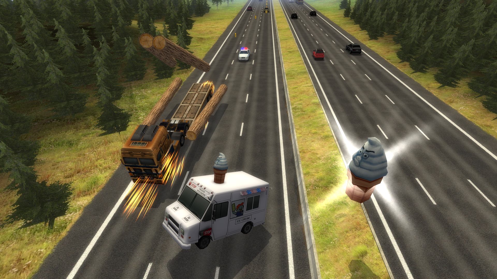 Highway Crash Derby screenshot 14