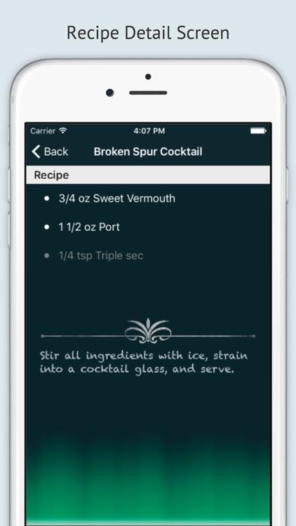 MyBar - Make Mixed Drinks Based on Your Ingredients screenshot-3