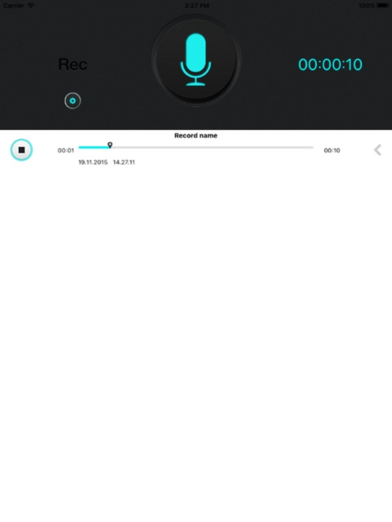 Super Voice Recorder for iPad, Record your meeting