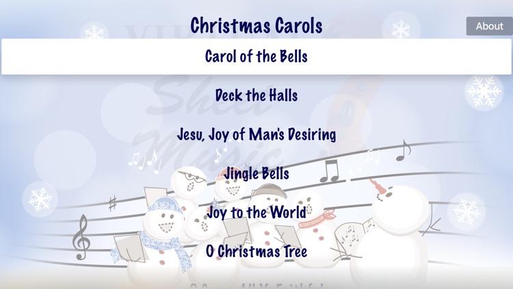 Christmas Carols by Virtual Sheet Music®