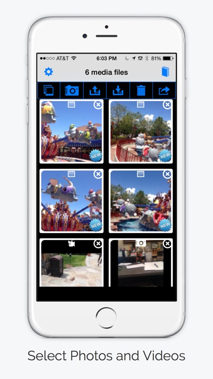 PhotosShare - Share Photos and Videos of Any Size