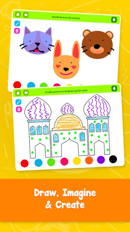 Doodle Fun ! Draw Play Color for Kids Boys & Girls
