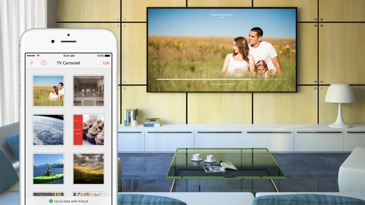 TV Carousel — Send photos to your TV