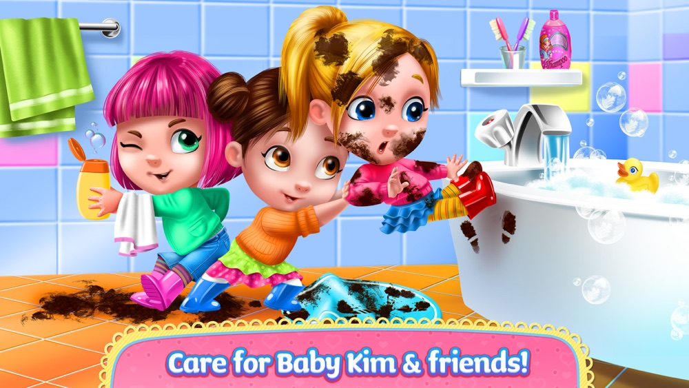 Baby Kim – Care & Dress Up