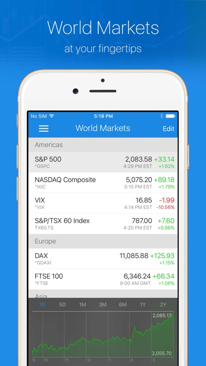 Ticker Stock Portfolio Manager screenshot-3