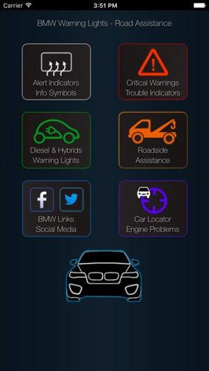 App For Bmw Warning Lights Car Problems On The App Store