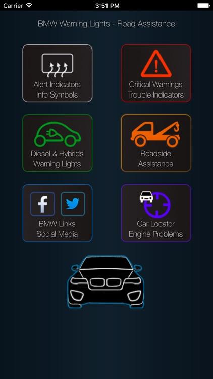 App for BMW Warning Lights & Car Problems