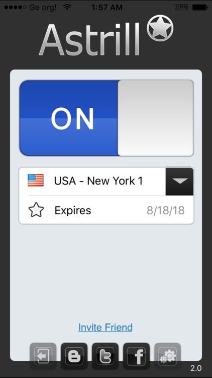 Astrill VPN Client screenshot-3