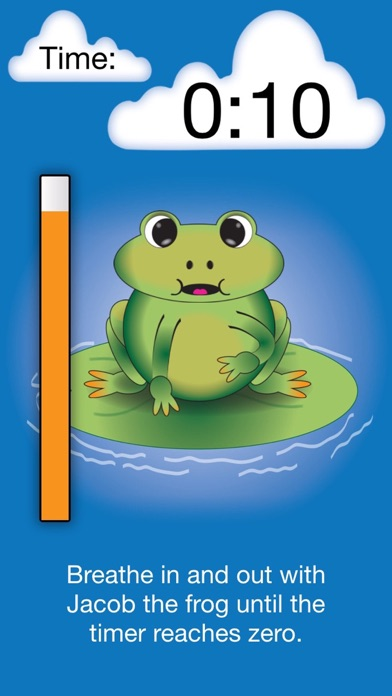 Guided Breathing with Jacob the Frog screenshot three