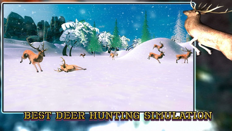 Sniper Deer Hunting Pro - Hunt Wild Jungle Animals in the Extreme Winter screenshot-4