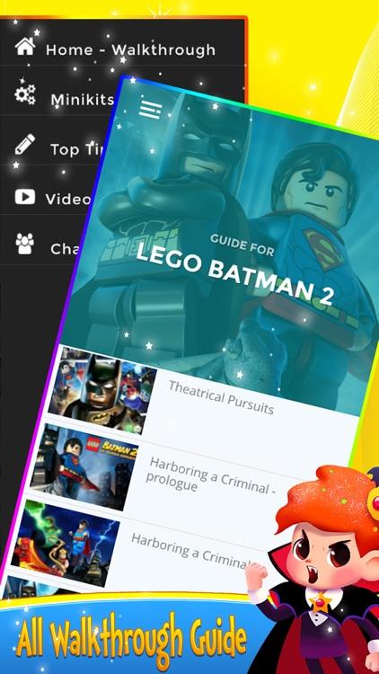 Guide for Lego BatMan 2 DC