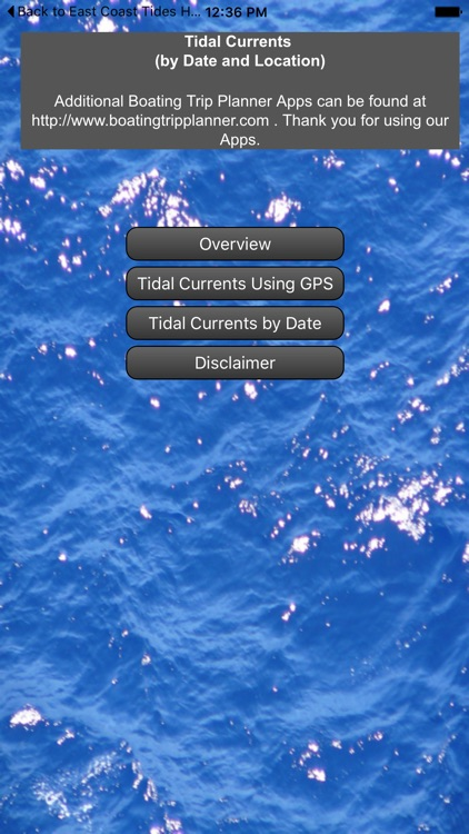 Alaska Coast Tidal Currents by Date and Location screenshot-0