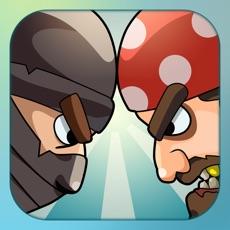 Activities of War Games: Pirates Versus Ninjas - A 2 player and Multiplayer Combat Game