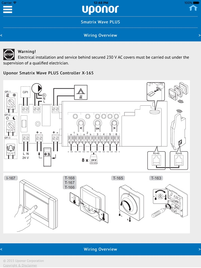 Uponor Smatrix Installation on the App Store on