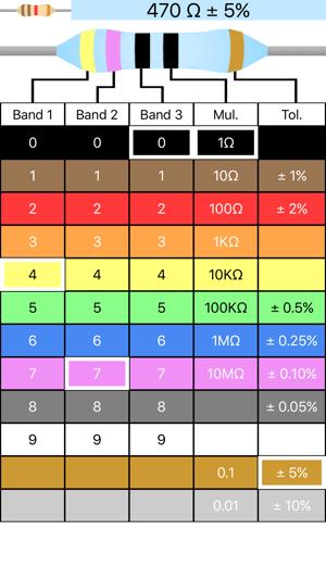 Resistor Code Calculator On The App Store