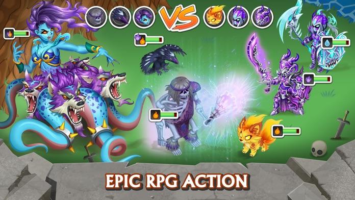 Knights & Dragons - RPG Screenshot