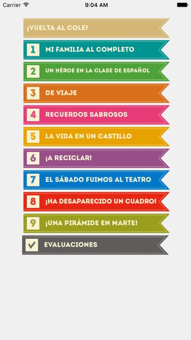 Español entre amigos 3 screenshot two