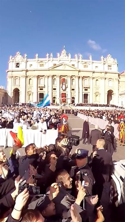 VR Virtual Reality press360 Papal inauguration of Pope Francis screenshot-3