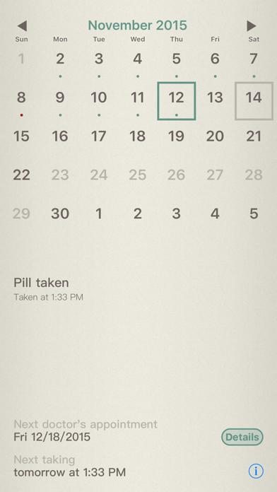 Pill-Watch screenshot two