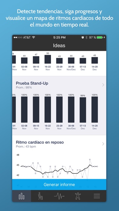 Screenshot for Ritmo Cardíaco Instantaneo+ in Mexico App Store