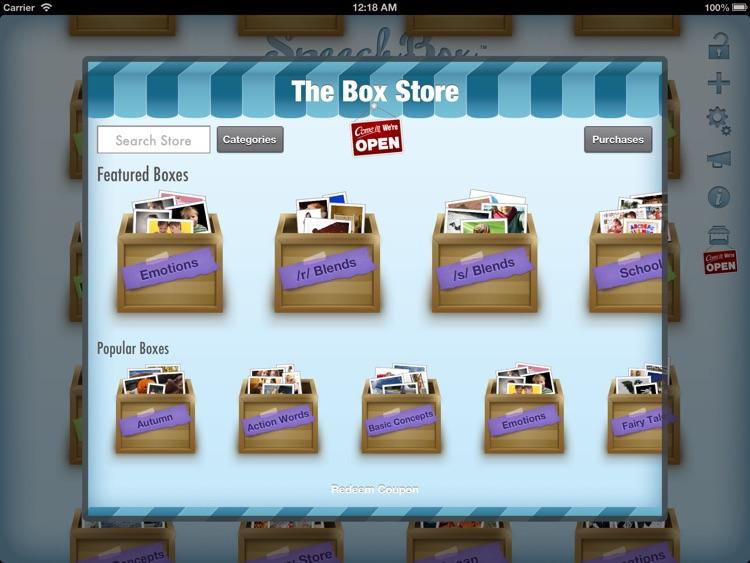 SpeechBox for Articulation Speech Therapy - iPad Edition screenshot-4