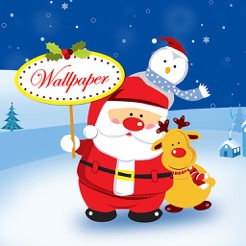 Santa Wallpaper Live Maker