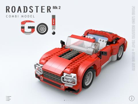Roadster Mk 2 for LEGO Creator 7347+31003 Sets - Building