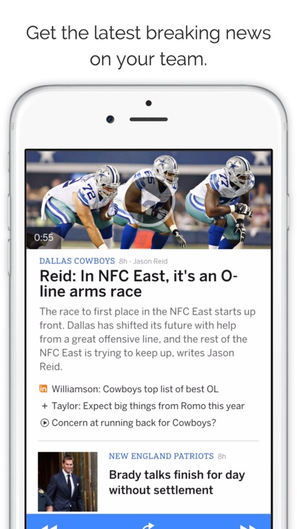 GameDay Pro Football Radio - Live Games, Scores, Highlights, News, Stats, and Schedules screenshot-4
