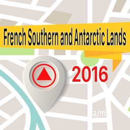 French Southern and Antarctic Lands Offline Map Navigator and Guide