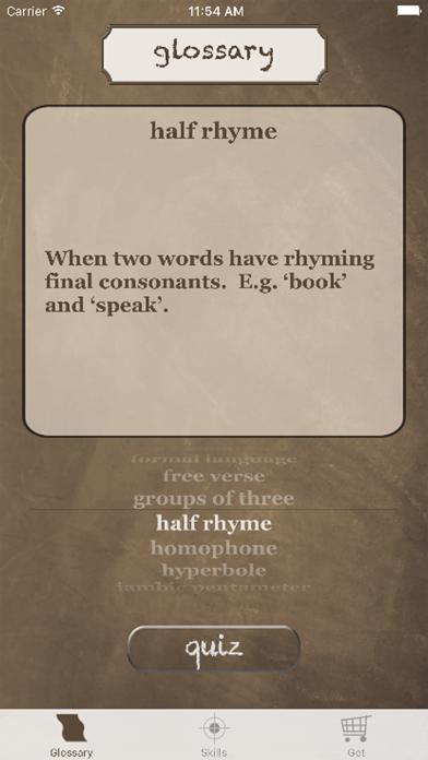 English Literature Success screenshot one