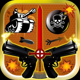 Weapon & Gun Sound Effects Button Free - Share Explosion Sounds via SMS & Timer Alert Plus