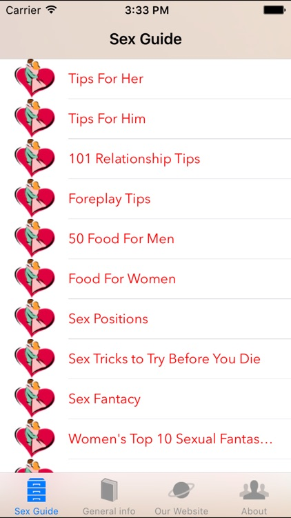 Sex Guide - Positions, Tips and information for a Better sex life