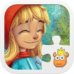 Jigsaw Tale Red Riding Hood - Games for Kids