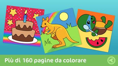 Screenshot of Toonia Colorbook - libro da colorare per bambini - applicazione gratuita1